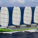 Creating tailwind for wind-assisted shipping