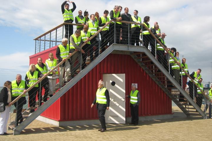 Dryporters meet in the Port of Zeebrugge